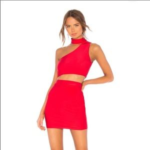 Red two-piece set
